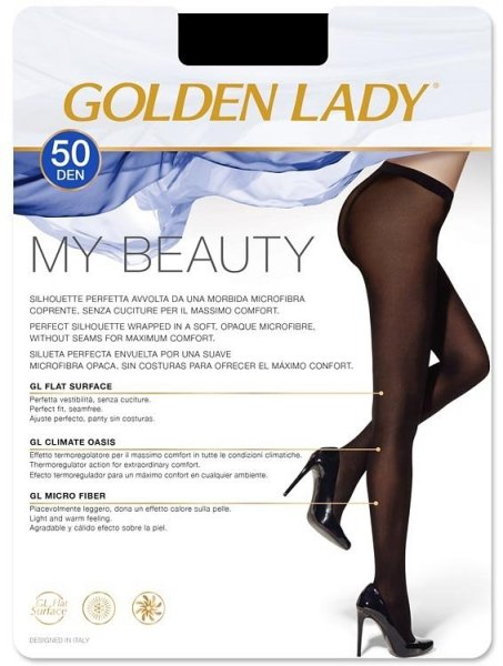 Golden Lady My Beauty 50 den rajstopy