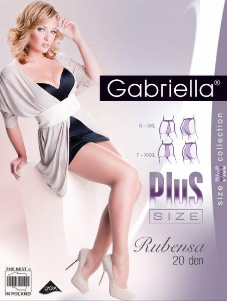 Gabriella Rubensa Plus Size 161 20 den rajstopy