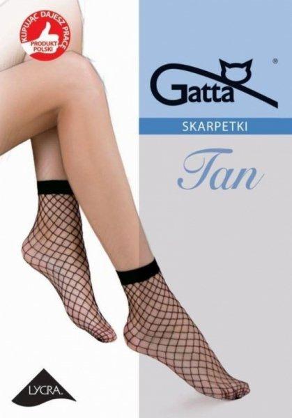 Gatta Tan nr 2 kabaretka skarpetki