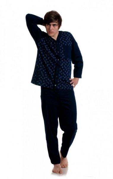 Gucio rozpinana męska 298 plus piżama męska