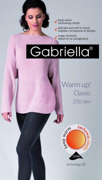 Gabriella Warm Up! 3D 409 200 den rajstopy