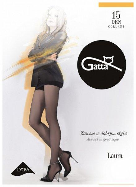 Gatta Laura 15 den 5-XL, 3-Max rajstopy