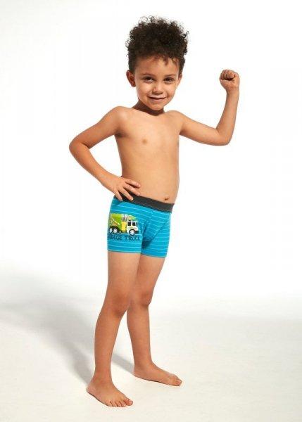 Cornette Kids Boy 701/66 Garbage Truck bokserki chłopięce