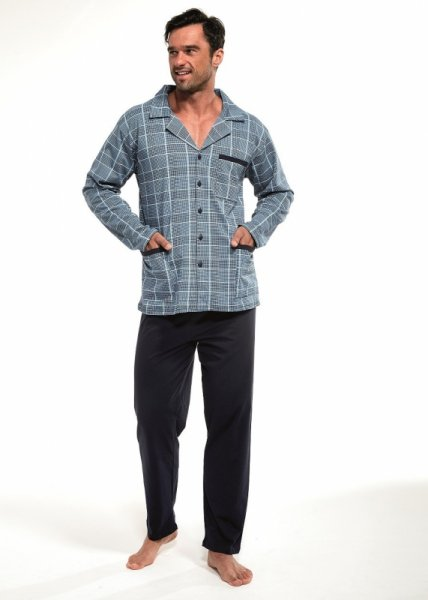 Cornette 114/40 Rozpinana piżama męska