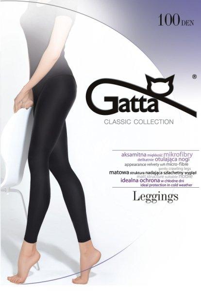 Gatta Microfibra 100 den 5-XL legginsy
