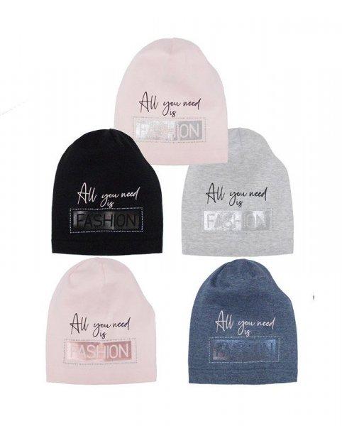 AJS 40-134 czapka dziewczęca
