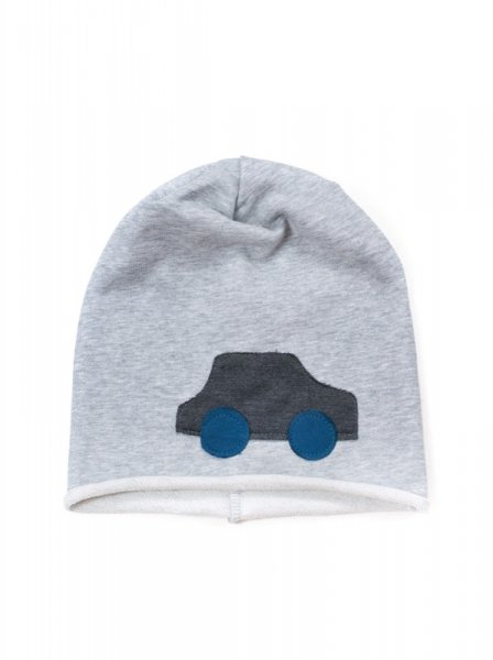 Art 17138 Samochód czapka chłopięca