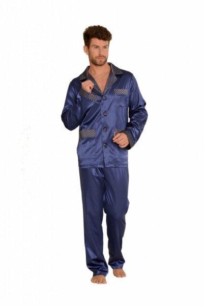 De Lafense 939 Satyna piżama męska