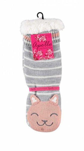 RiSocks Apollo 33658 Home Socks With Fur 3D skarpetki