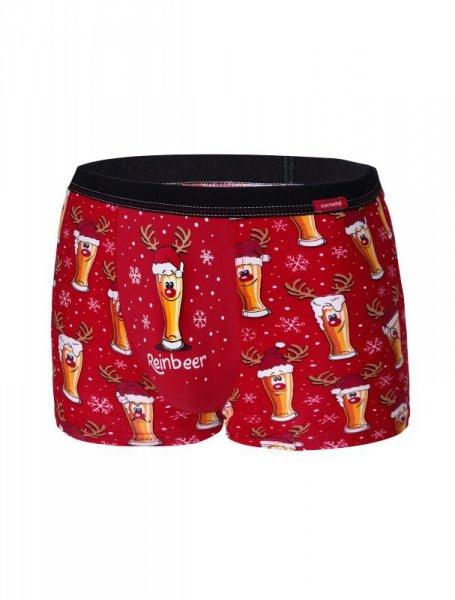 Cornette 007/54 Beer 2 Merry Christmas bokserki męskie