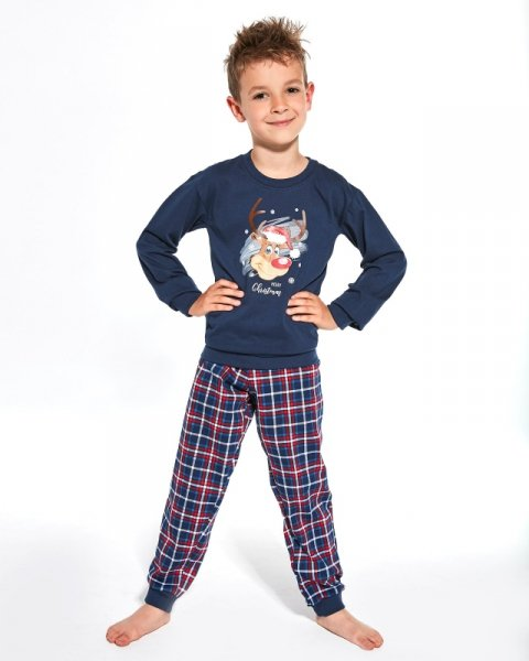 Cornette Young Boy 966/113 Reindeer 134-164 piżama chłopięca