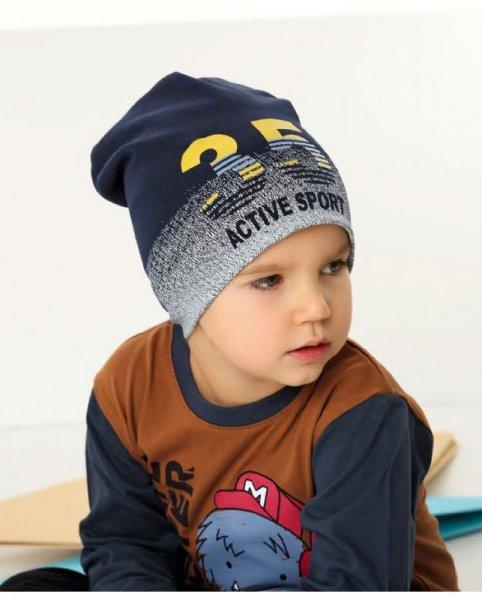 AJS 42-179 czapka chłopięca
