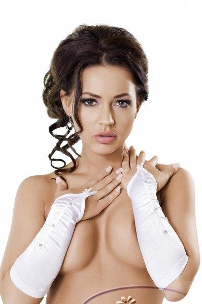 Irall Victoria Białe rękawiczki