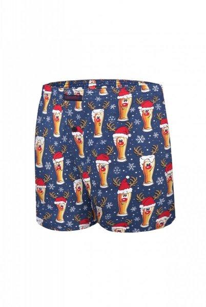 Cornette Świąteczne 016/12 Beer 4 szorty męskie