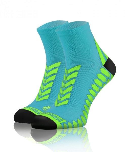 Sesto Senso Sport Socks turkusowo-seledynowe Skarpety