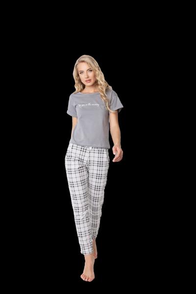 Aruelle Belle Long Grey piżama damska