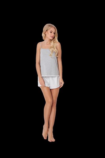 Aruelle Adelide Short Grey piżama damska