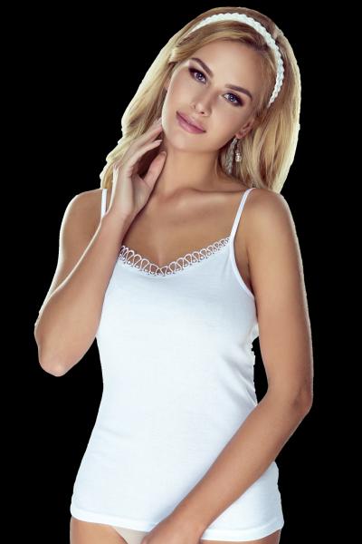 Eldar Delfina Biała koszulka damska