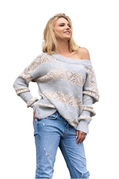 Merribel Anatia Grey sweter damski