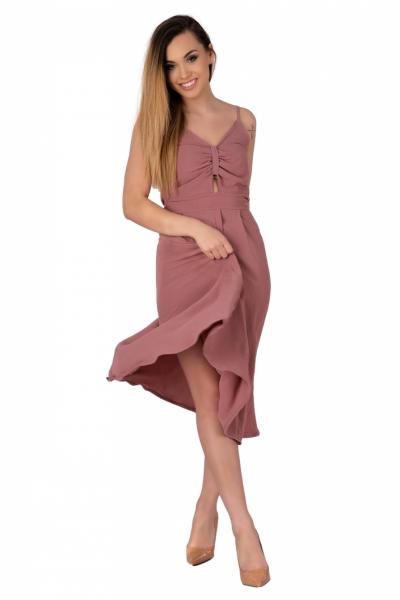 Merribel Molinen Dusty Rose sukienka damska
