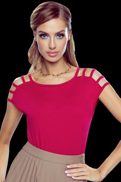Eldar Daria New Bordowa bluzka damska