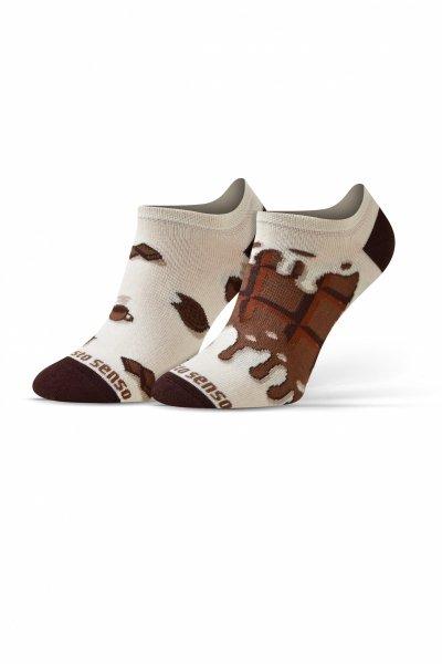 Sesto Senso Finest Cotton czekolada/kawa Stopki