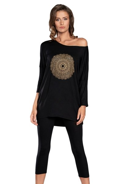 Italian Fashion Mandala r.3/4 sp.3/4 piżama damska
