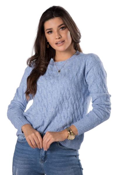 Vittoria Ventini Patricia M83134 Blue sweter damski