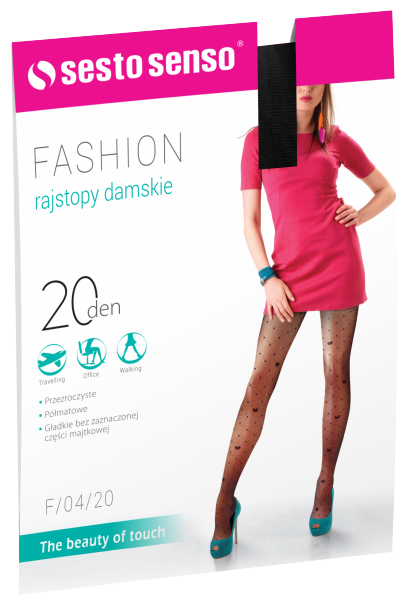 Sesto Senso Fashion 20 DEN F/04/20 Rajstopy damskie