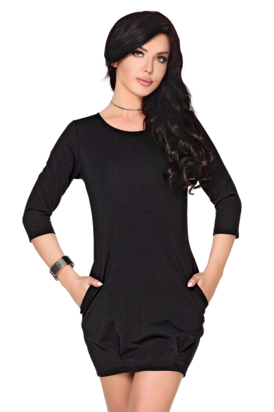 Merribel Hattyna Black sukienka damska
