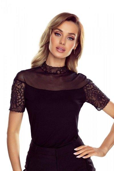 Eldar Melania Czarna Plus bluzka damska