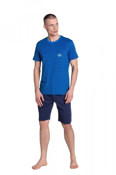 Henderson Drake 38878-59X Granatowa piżama męska