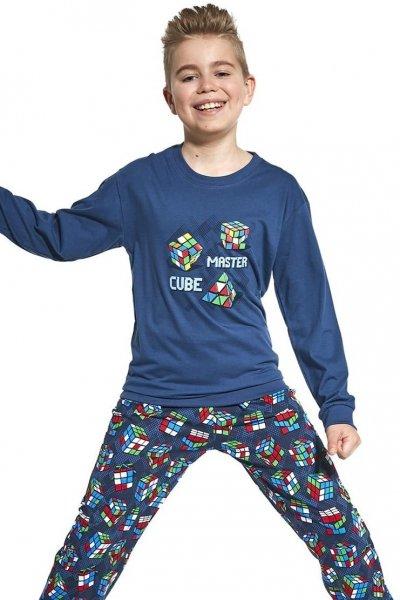 Cornette Young Boy 966/102 Cube Master 134-164 piżama chłopięca