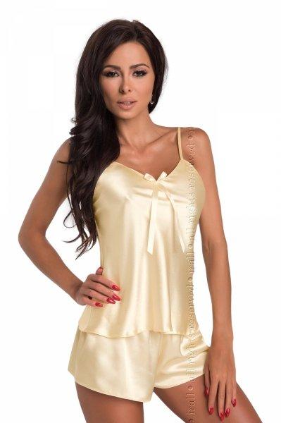 Irall Aria Kremowy piżama damska